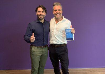 Fabio D'Agata van Spat Verandert en Martin Planken van Topshelf Media